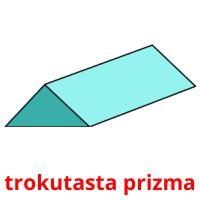 trokutasta prizma picture flashcards