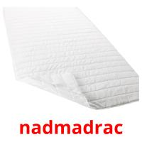 nadmadrac picture flashcards
