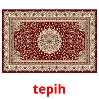 tepih picture flashcards