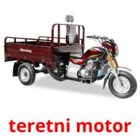 teretni motor picture flashcards