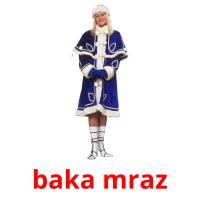 baka mraz picture flashcards