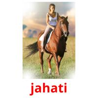 jahati picture flashcards