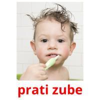 prati zube picture flashcards
