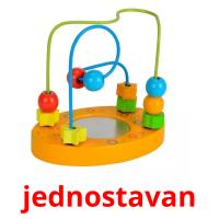 jednostavan picture flashcards