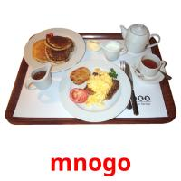 mnogo picture flashcards