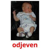 odjeven picture flashcards
