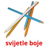 svijetle boje card for translate