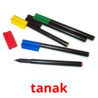 tanak picture flashcards