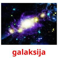 galaksija picture flashcards
