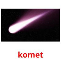 komet picture flashcards