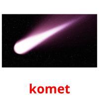 komet picture flashcards