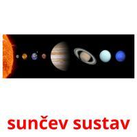 sunčev sustav picture flashcards