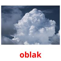 oblak picture flashcards