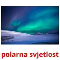 polarna svjetlost picture flashcards
