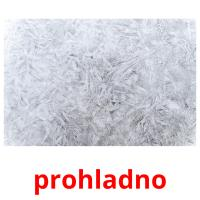 prohladno picture flashcards
