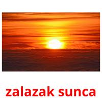 zalazak sunca picture flashcards
