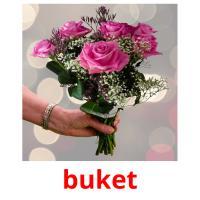 buket picture flashcards