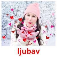 ljubav picture flashcards
