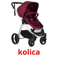 kolica picture flashcards
