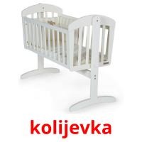 kolijevka picture flashcards