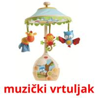 muzički vrtuljak picture flashcards
