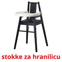 stokke za hranilicu picture flashcards