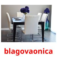 blagovaonica picture flashcards