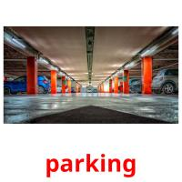 parking picture flashcards