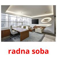 radna soba picture flashcards