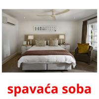 spavaća soba picture flashcards