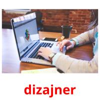 dizajner picture flashcards