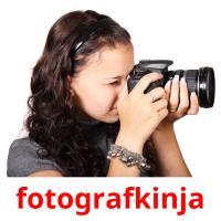 fotografkinja picture flashcards