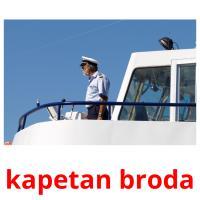kapetan broda picture flashcards