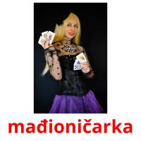 mađioničarka picture flashcards
