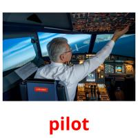 pilot picture flashcards