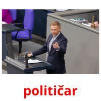 političar picture flashcards