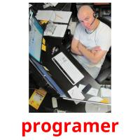 programer picture flashcards