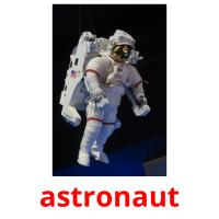 astronaut picture flashcards