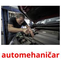 automehaničar picture flashcards