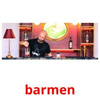 barmen picture flashcards