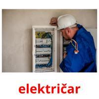 električar picture flashcards
