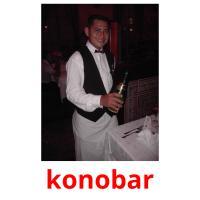 konobar picture flashcards