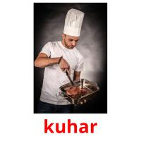 kuhar picture flashcards