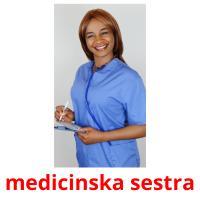 medicinska sestra picture flashcards