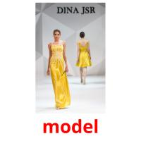 model picture flashcards
