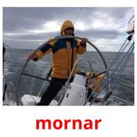 mornar picture flashcards