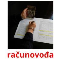 računovođa picture flashcards