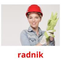 radnik picture flashcards