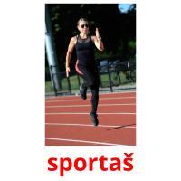 sportaš picture flashcards