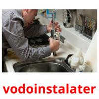 vodoinstalater picture flashcards